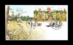 BIRDS FIRST DAY COVER (STRIP OF 3)