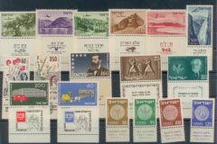 1954 Year Set Tabs
