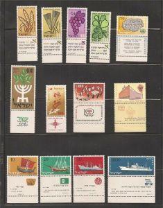 1958 Year Set Tabs