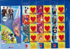 2009 Disney Sheetlet