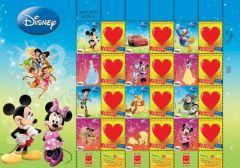 2012 Disney Sheetlet