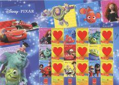 2013 Disney Pixar Sheetlet