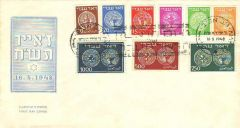 1-9 FIRST DAY COVER