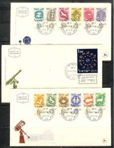 ZODIAC-FIRST DAY COVERS