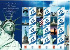 2011 Statue of Liberty Sheetlet